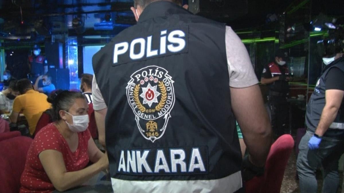 Ankara'da Eğlence Mekanlarına Sıkı Denetim!