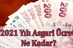 2021 Asgari Ücret Belli Oldu, Zam Oranı Ne Kadar Olacak?