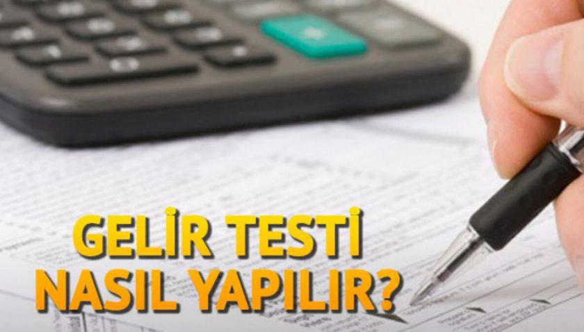GSS Gelir Testi Başvurusu Nasıl Yapılır?
